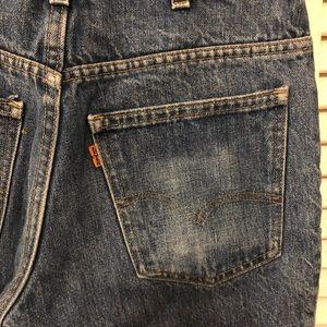 Vintage Levi 517 Orange Tab jeans unisex